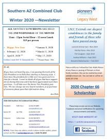 SACC Newsletter Winter - 2020 - FINAL PG1